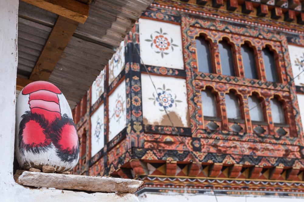 Au Bhoutan, les phallus protègent des mauvais esprits