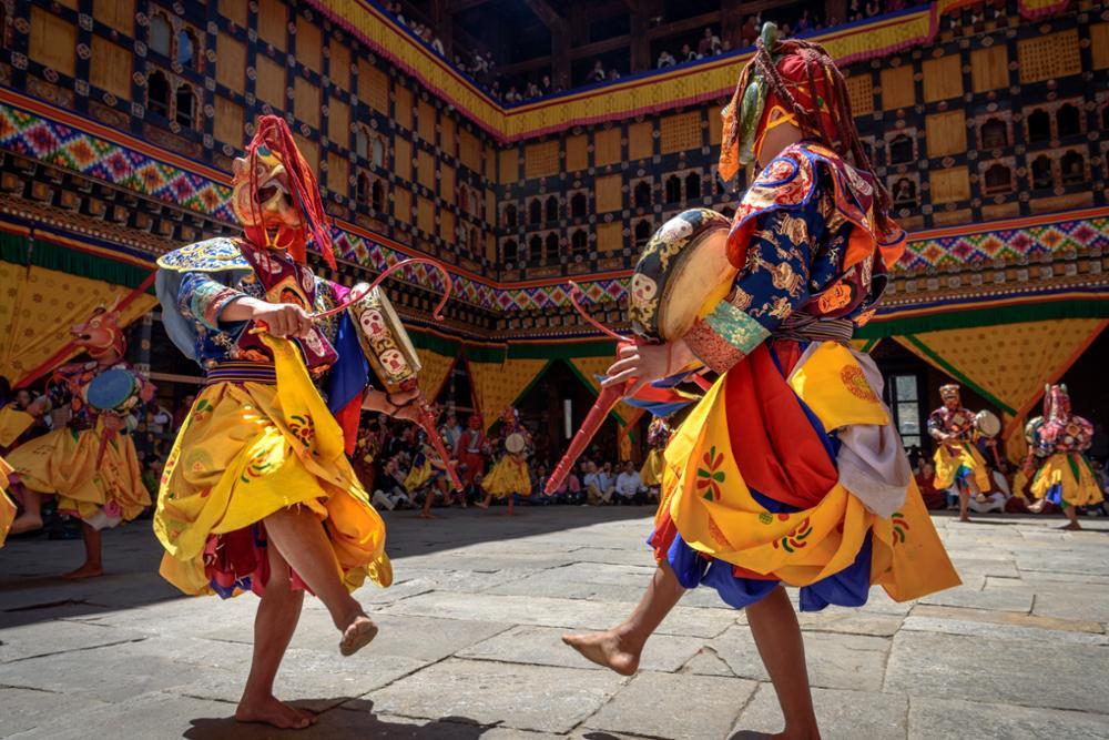 Les plus grands festivals à voir au Bhoutan lors des beaux jours !