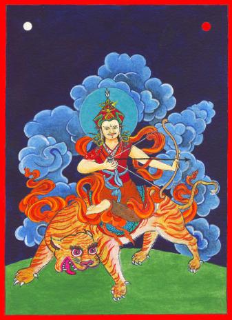 L'arrivée de Guru Rinpoché au Bhoutan