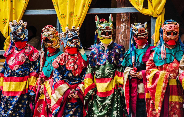 Le festival Pelden Lhamoi Drupchen pendant 3 jours à Trongsa
