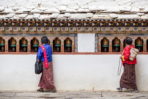 Bhoutan pays bouddhiste