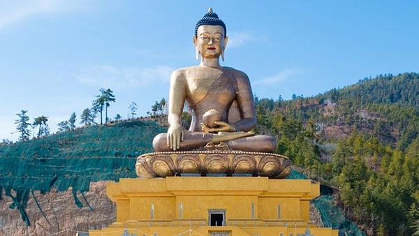 Bouddha géant du Bhoutan