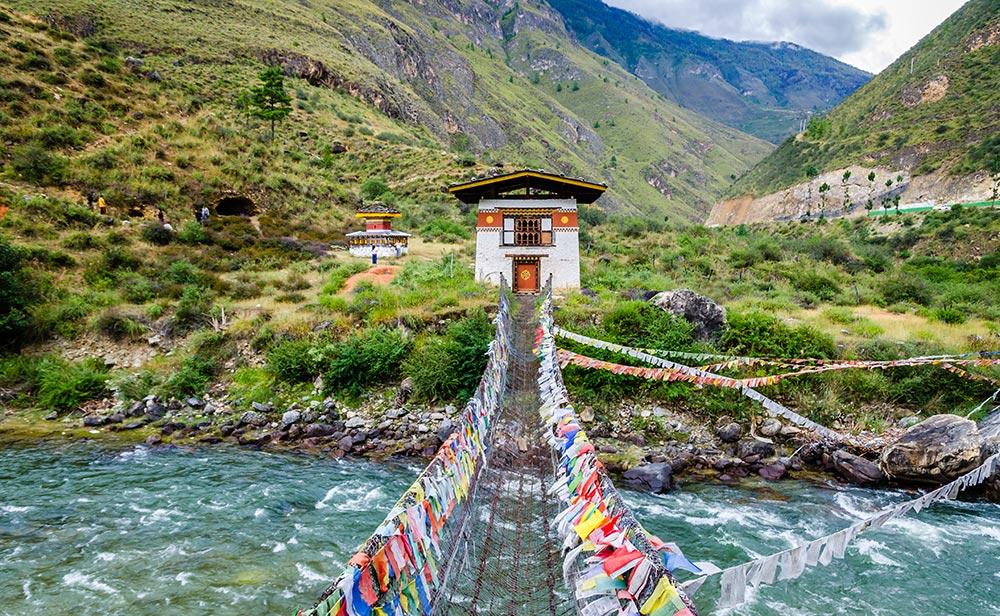 Rivière au Bhoutan